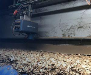 Mesure d'humidité de plaquettes et copeaux de bois avec IR-3000 MoistTech