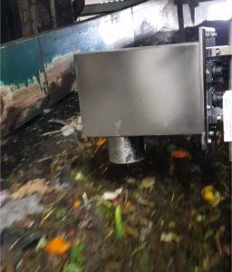 Mesure d'humidité de déchets pour bioénergie avec capteur IR-3000 MoistTech