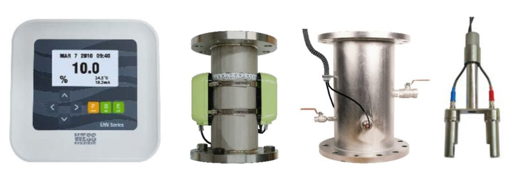 Capteur de concentration de boue ENV-200 pour STEP